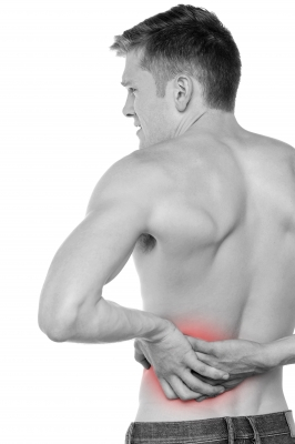 Heat Therapy may alleviate the back muscles pain