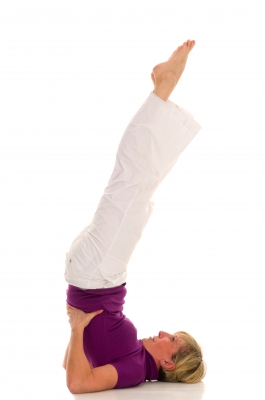 Yoga inversion benefits your health