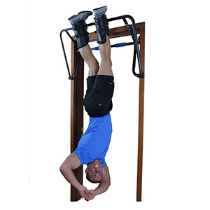 Teeter Hang Ups EZ Up Inversion and Chin Up System with Rack