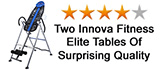 Two Innova Elite Fitness Inversion Tables