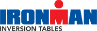 The Logo of Ironman used on Paradigm inversion tables