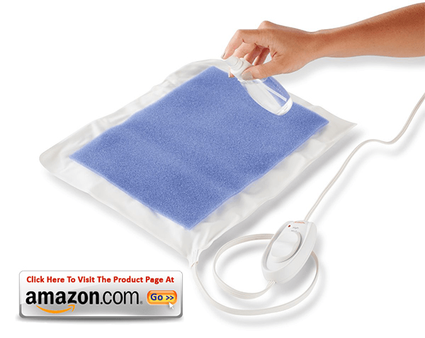 Sunbeam 731-500 heating pad with UltraHeat Technology